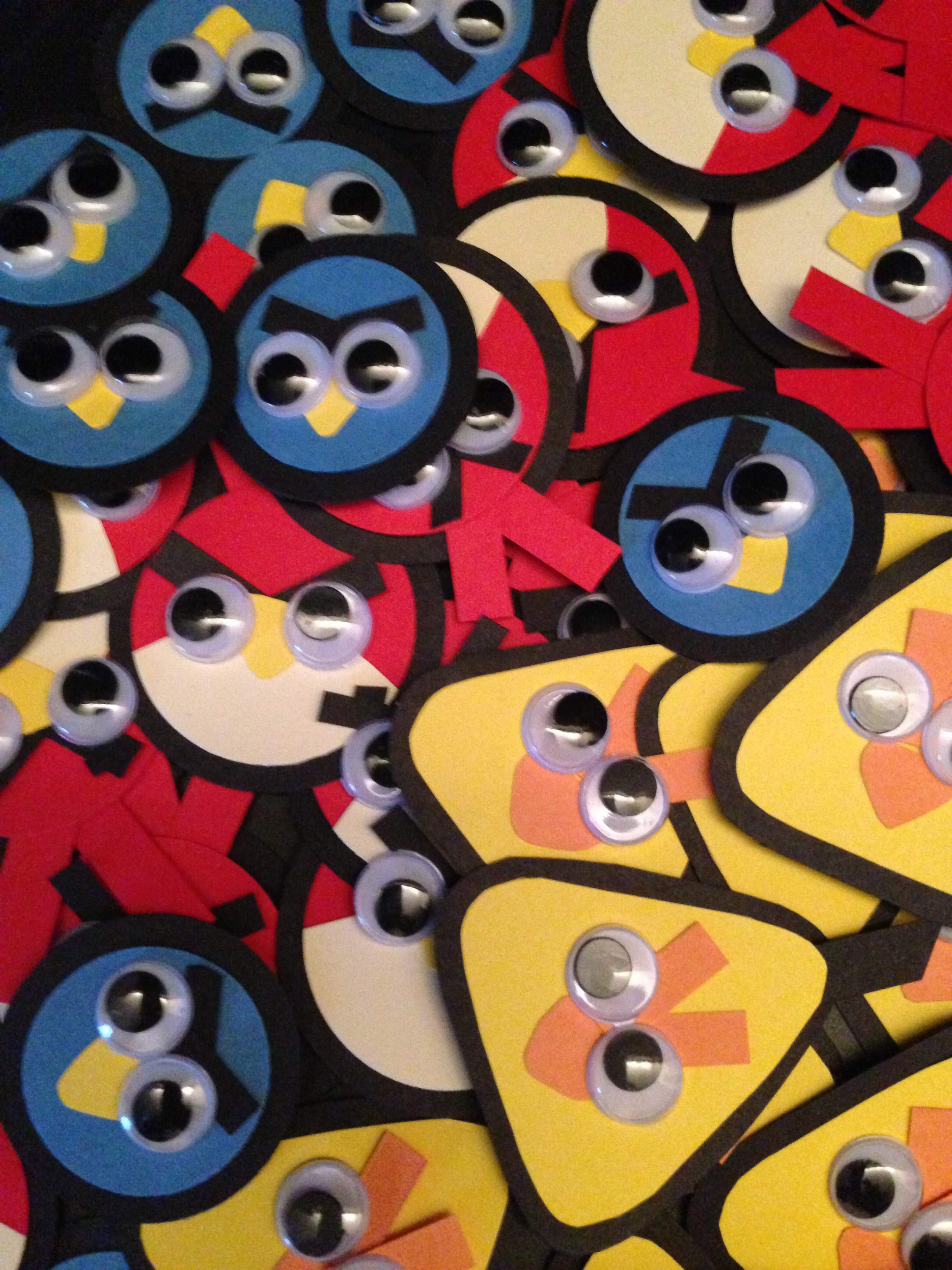 Ten Spare Minutes: Angry Birds Party Invites